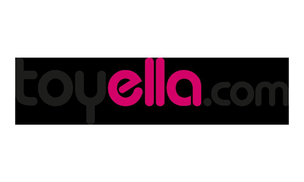 Toyella logo design by studio denley