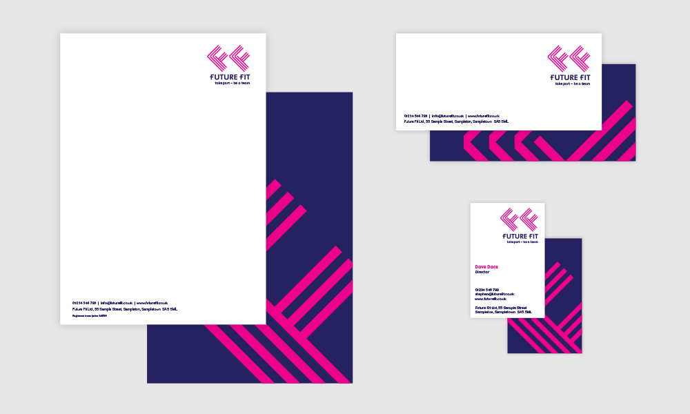 Future Fit stationery range