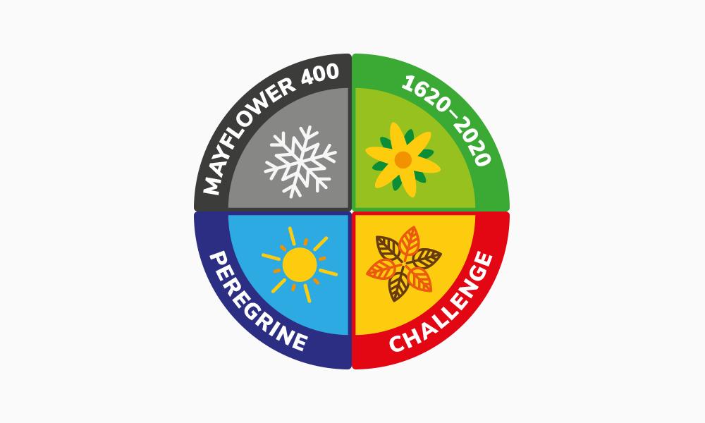 Seasonal challenge complete badge